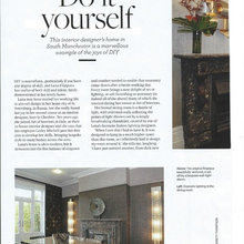 Read about the interior of my home in Cheshire Life magazine (March)