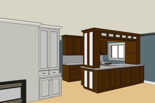 Small Kitchen Layout - Stacked Condo