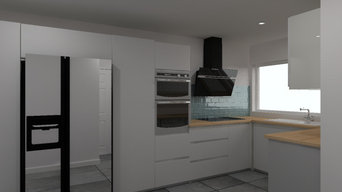 Kitchen in Kings Langley September 2020
