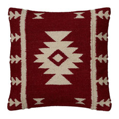 Rizzy Home Decorative Pillow, Red