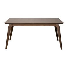 """Lawrence 83"""" Extension Dining Table, American Walnut"""