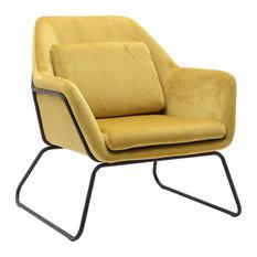 Nial Accent Chair, Retro Green