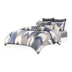 INK+IVY Printed Comforter Bedding Set, King/California King