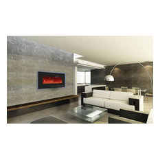 """Enhanced Series Wall Mount/Built-In Electric Fireplace, 34"""""""