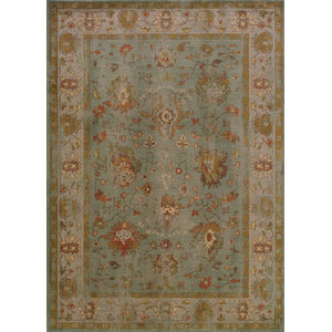 "Oriental Weavers Casablanca 4446C 5'3""x7'6"" Light Blue Rug"