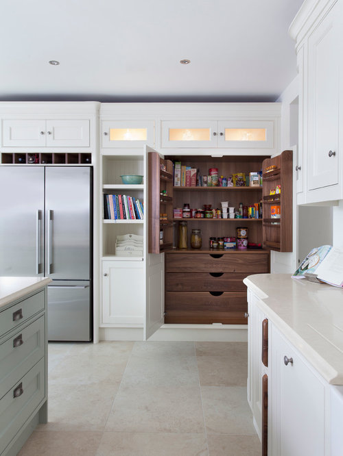 Jonathan Williams Handpainted Solid Inframe Kitchen from our Claridge Collection - Pantry Cupboards