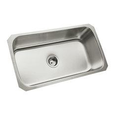 "Sterling 11600 McAllister 32"" Single Basin Undermount Stainless - Stainless"