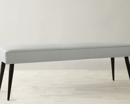 Mellow 3 Seater Bench Without Backrest In Cool Grey   Dining Benches