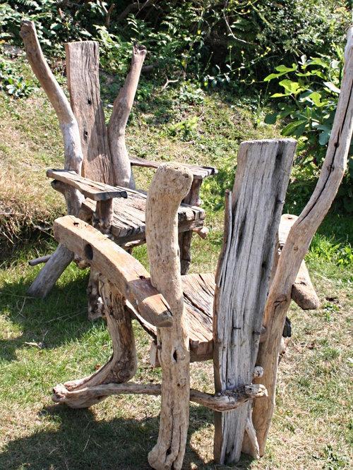 Driftwood Chair   Garden Lounge Chairs
