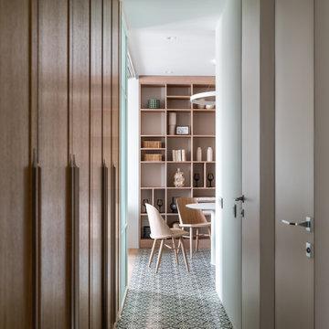 Квартира для семьи из трех человек на 45 кв.м.