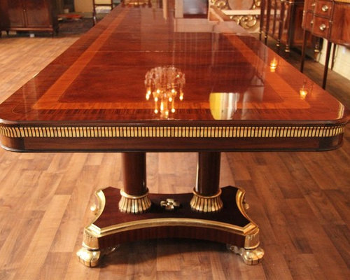 Extra Large King Demure Mahogany Dining Room Table (AP KD 10 22)   Dining Part 92