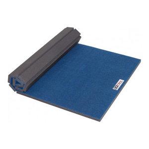 FlooringInc Home Cheer Carpet Top Mats, Blue, 4'x6'x1 3/8
