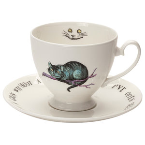 Cheshire Cat Teacup and Saucer