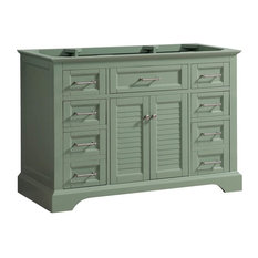 "Avanity Colton 48"" Vanity Only, Basil Green"