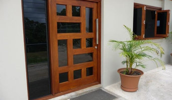 Orient Door 1200mm, Louvre Side Light and Bifold Windows