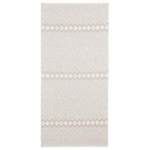 Elin Woven Floor Cloth, Beige, 70x200 cm