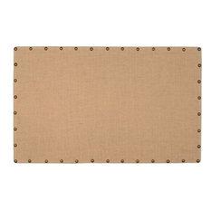 Burlap Nailhead Corkboard - Large
