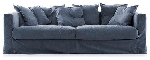 LE GRAND AIR Soffa, Mörkblå - Sofaer