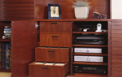Get It Done: Organize the Media Cabinet
