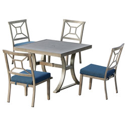 Transitional Outdoor Dining Sets by OVE Decors