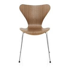 - Fritz Hansen Serie 7 Stuhl Holz - Esszimmerstühle