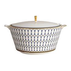 - Wedgwood Renaissance Gold Soup Tureen - Soup Tureens