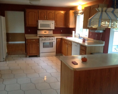 Mansfield Ma Fall Kitchen Before After