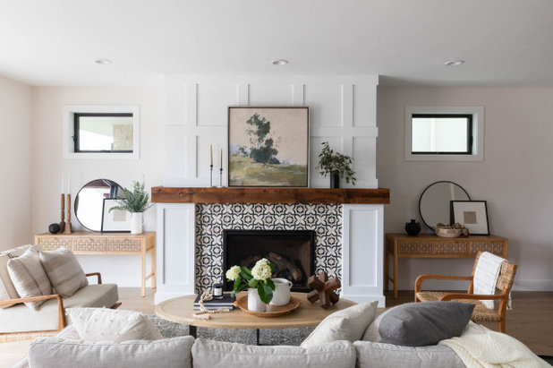 Farmhouse Living Room by Studio By Eclectic Goods