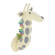 Pastel Felt Giraffe Head