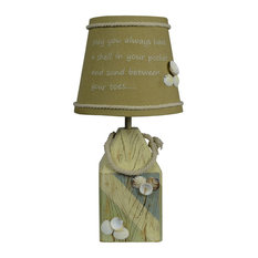 Shell Buoy Coastal Accent Lamp