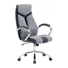 Formula 1 Office Swivel Chair, Grey