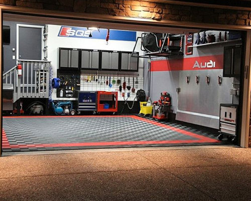 Save The Ultimate Home 2 Car Garage FLOORED