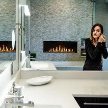 Bathroom Fireplaces