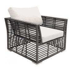 Panama Jack Graphite Lounge Chair