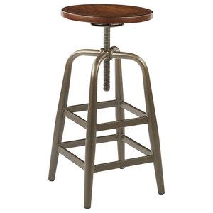 Stupendous Johannesburg Traditional Counter Height Chairs Brown Cherry Customarchery Wood Chair Design Ideas Customarcherynet