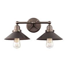 Feiss 2-Light Vanity, Bronze