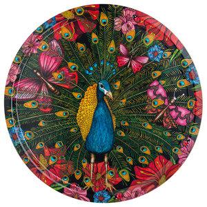 Peacock Tray, 38 cm