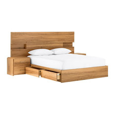 - Amelie Bedhead with Light - Headboards
