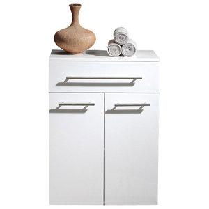 Emotion Aurum-XL Bathroom Cabinet, White High-Gloss