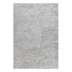 NuLOOM   NuLOOM Cozy Soft And Plush Shag Area Rug, Silver, 8u0027x10