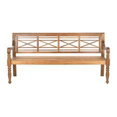 Safavieh Karoo Outdoor Bench, Natural