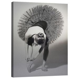 Ballerina Canvas Print, 80x60 cm