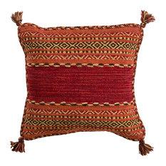 Surya - Trenza Pillow 18x18x4, Polyester Fill - Decorative Pillows