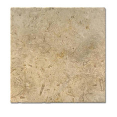 "Jerusalem Gray/Gold Tumbled 12""x12""x1/2"""