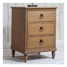 Frank Hudson Annecy Weathered Bedside Cabinet