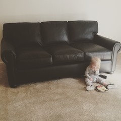 Ordered The 8ft Lancaster Leather Sofa From RH And It Arrived Yesterday.  After Looking It Over I Noticed A 7 Inch Scratch Down The Right Side Arm  And The ...