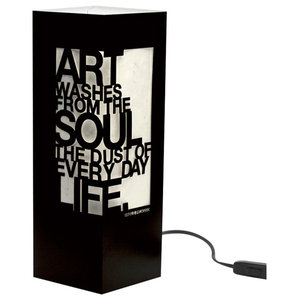 Pablo Picasso Paper Table Lamp