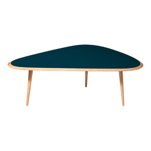 Peacock Blue Coffee Table, Large