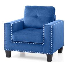Nailer Chair, Navy Blue