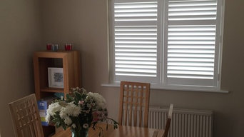 Full Height Shutters Throughout in Wallington, Surrey.